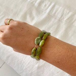 Jewelry - Jade beaded bracelet (2)